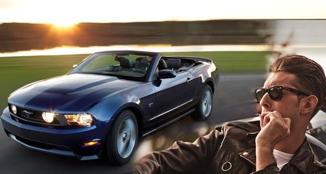 Ford Mustang Convertible na 2 hodiny s 63% slevou