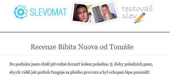 Blog testovačů slev Slevomatu
