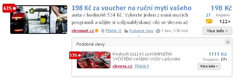 Funkce podobné slevy na Skrz.cz